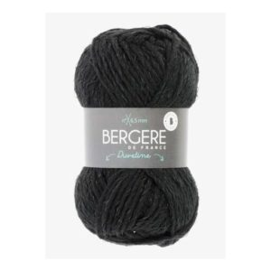 DUVETINE de Bergère de France Coloris 34091 Noir