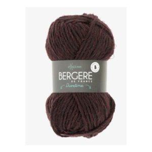 DUVETINE de Bergère de France Coloris 34778 Aubergine