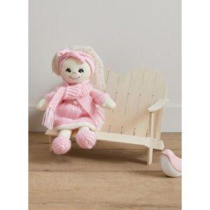 Kit à tricoter poupée Lina Danseuse de Bergère de France 2021/22