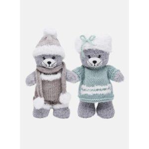 Kit tenue à tricoter Câlinette Câlinou, Chat 25 cm de BdF 2021/22