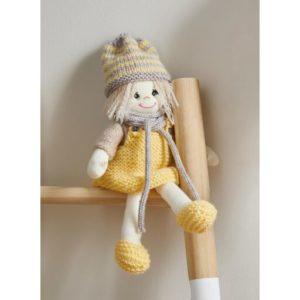 Kit à tricoter poupée Lina Dynamique de Bergère de France 2021/22