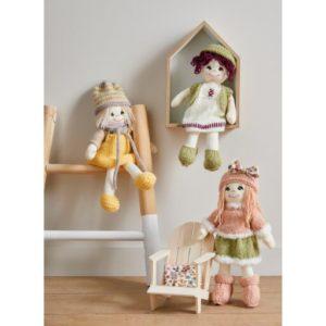 Kit à tricoter poupée Lina Printanière de Bergère de France 2021/22