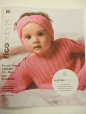 Rico Baby N°31 Layette pour Débutantes de RICO DESIGN 2021/22