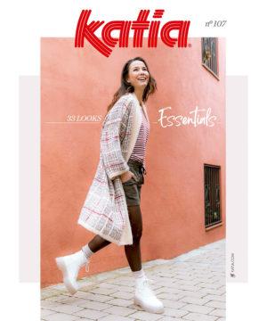 Katia ESSENTIALS N°107 Automne-Hiver 2021/22 – 32 Modèles Femme